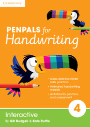 Penpals for Handwriting Year 4 Interactive