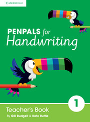 Penpals for Handwriting Year 1