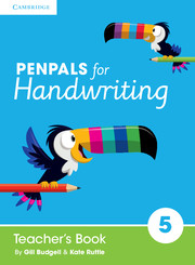 Penpals for Handwriting Year 5 Teacher's Book