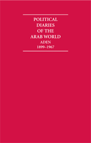 Political Diaries of the Arab World