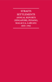 Annual Reports of the Straits Settlements 1855–1941