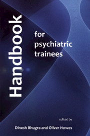 Handbook for Psychiatric Trainees