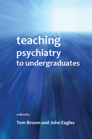 Teaching Psychiatry to Undergraduates