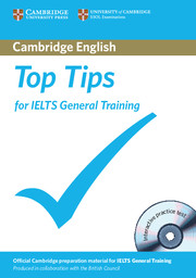 Top Tips for IELTS General Training Paperback with CD-ROM