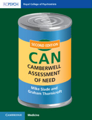 Camberwell Assessment of Need (CAN)