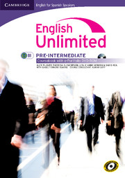 English Unlimited for Spanish Speakers Pre-intermediate