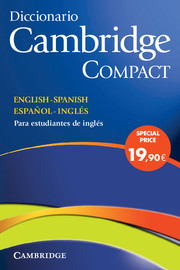 Diccionario Bilingue Cambridge Compact, Spanish-English