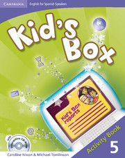 Kid's Box for Spanish Speakers Level 5 Activity Book with CD-ROM and Language Portfolio