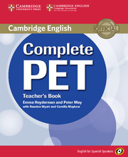 Complete PET for Spanish Speakers