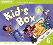Kid's Box for Spanish Speakers Level 6 Audio CDs (4)