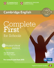Complete First for Schools for Spanish Speakers