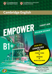Cambridge English Empower for Spanish Speakers B1+