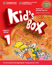 Kid's Box Updated English for Spanish Speakers 2nd Edition