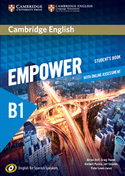 Cambridge English Empower for Spanish Speakers B1
