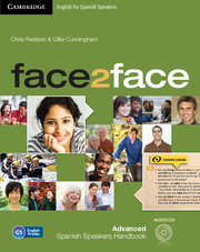 face2face for Spanish Speakers Advanced