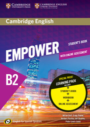 Cambridge English Empower for Spanish Speakers B2