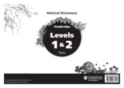 Cambridge Social Science Levels 1 and 2