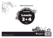 Cambridge Social Science Levels 3 and 4