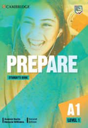 Prepare Level 1 Digital Student's Book (Blinklearning Version)