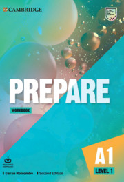 Prepare Level 1 Digital Workbook (Blinklearning Version)