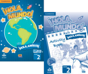 ¡Hola, Mundo!, ¡Hola, Amigos! Level 2 Student Book plus ELEteca and Activity Book