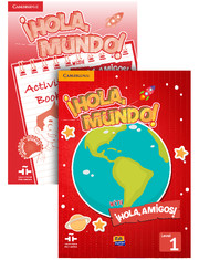 ¡Hola, Mundo!, ¡Hola, Amigos! Level 1 Value Pack (Student's Book plus CD-ROM, Activity Book)