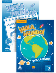 ¡Hola, Mundo!, ¡Hola, Amigos! Level 2 Value Pack (Student's Book plus CD-ROM, Activity Book)