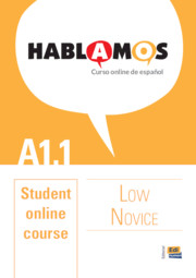 Hablamos Low Novice/A1.1