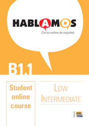 Hablamos Low Intermediate/B1.1